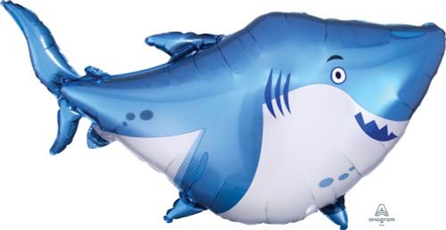 Blue Shark Foil Balloon (32inch)