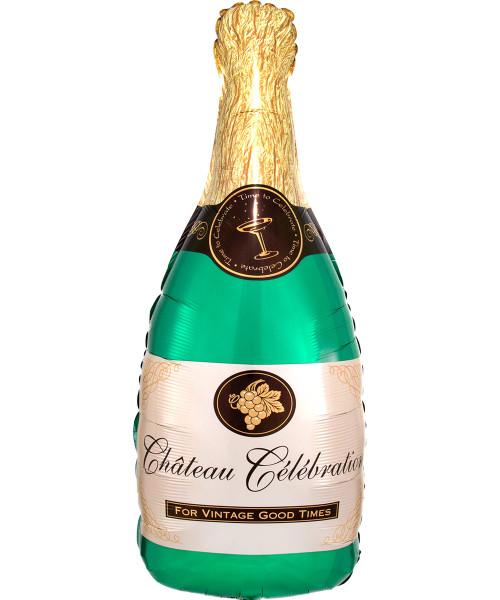 Bubbly Wine Champagne Bottle Foil Balloon (36inch)