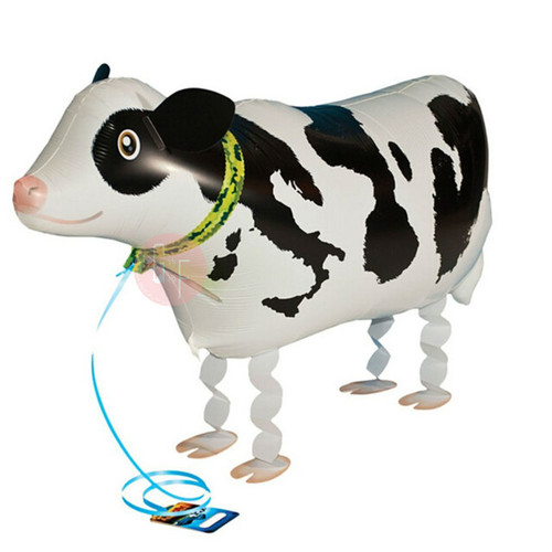Walking Pet Balloon - Moo Cow