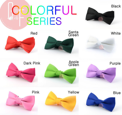 Bow Tie [Colorful]: Suitable for all occasions: Wedding, Party, Formal occasions, Prom Night and Special Occasion
