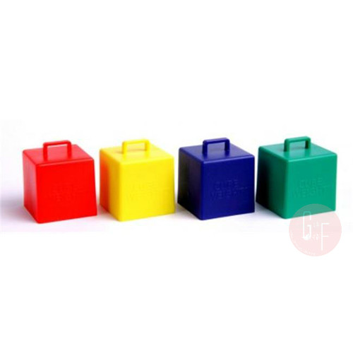 Balloon Cube Weight