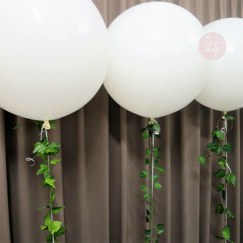 36'' Perfectly Round Spring Floral Garland Balloons