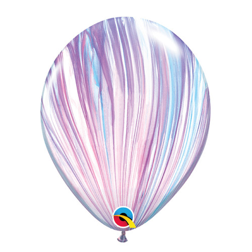 "12"" Marble Pattern Latex Balloon - Unicorn Marble"