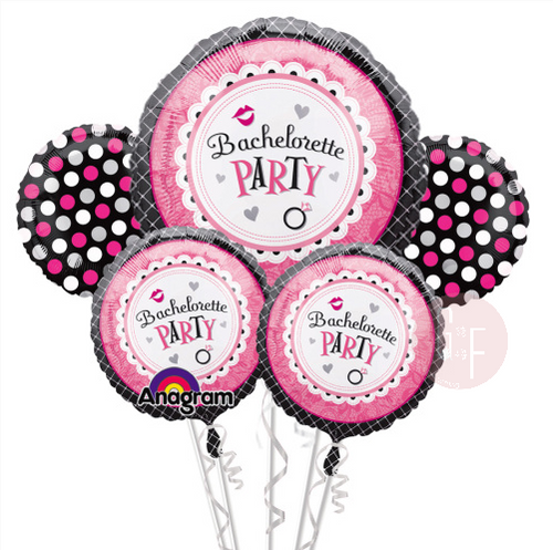 Bachelorette Sweet Party Balloons Bouquet