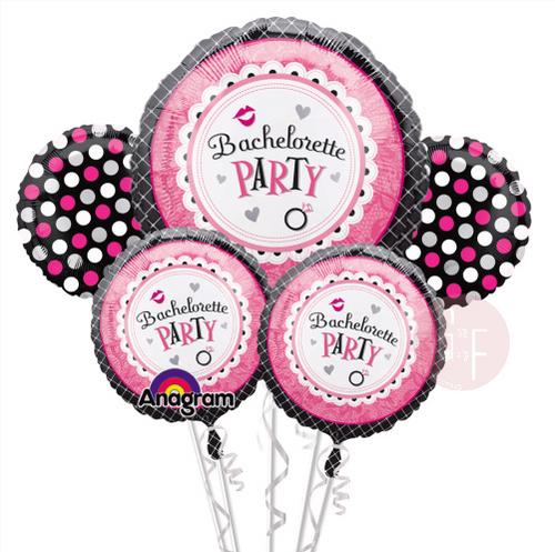 Bachelorette Sweet Party Balloons Bouquet