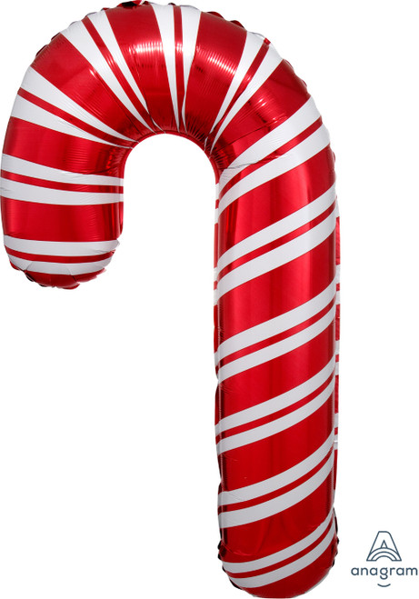 Holiday Candy Cane Foil Balloon (37inch)