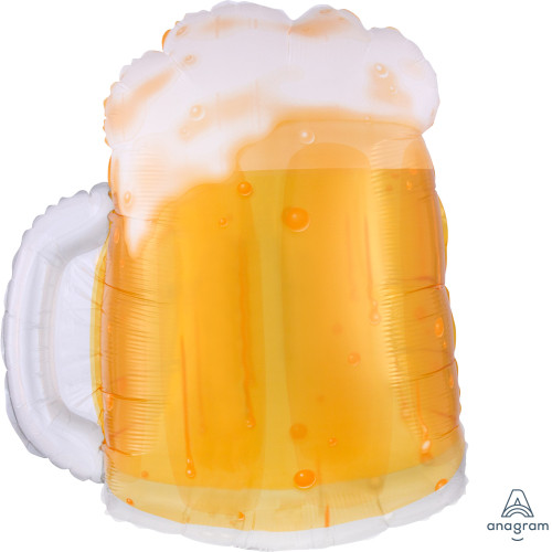 [Beverage] Beer Mug Foil Balloon (23inch)