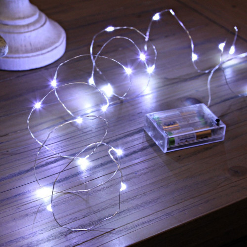 Micro LED String Lights (3meter) - White