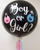 """36"""" Personalised Gender Reveal Giant Perfectly Round Latex Balloon"""