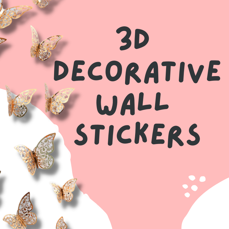 Same Day Delivery DIY Decoration Party Supplies Give Fun Singapore Self Collection Oxley Bizhub 2 DIY Decorative Wall Stickers Butterfly 3D