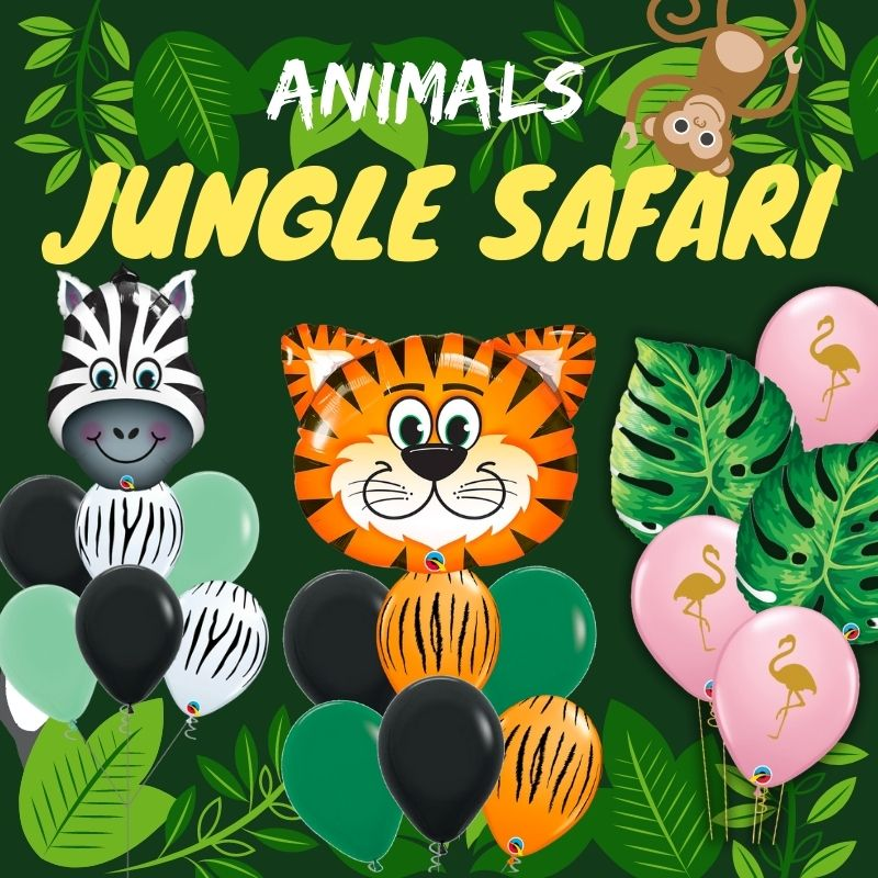 Animals Jungle Safari by Give Fun Singapore Balloons