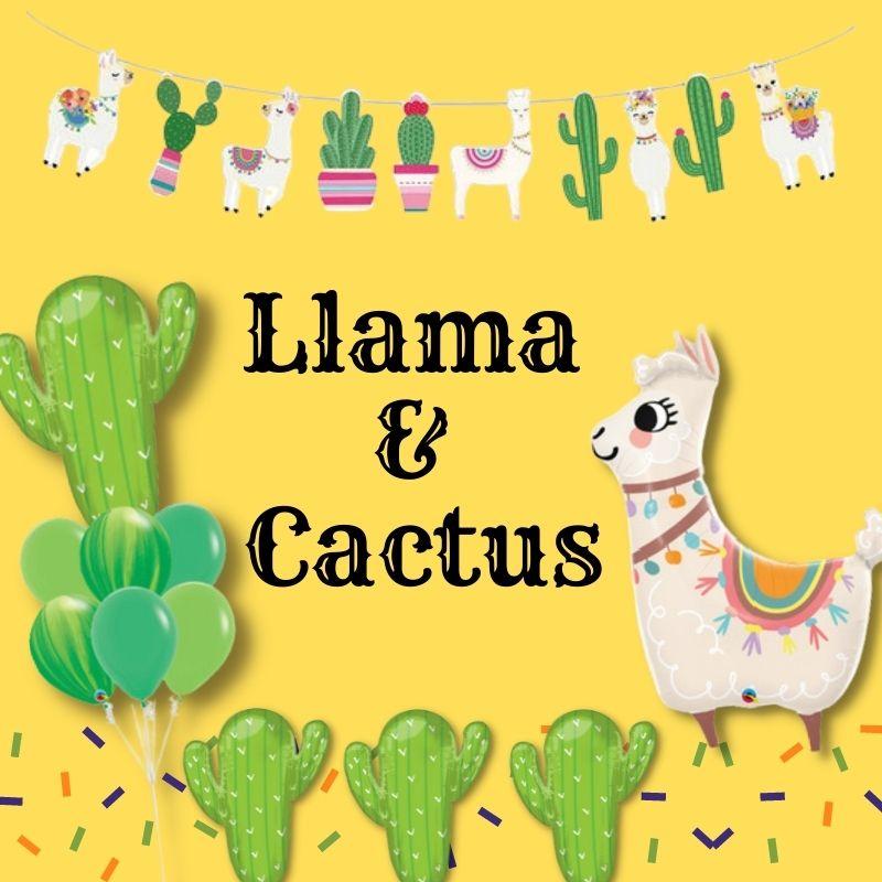 Llama and Cactus  by Give Fun Singapore Balloons