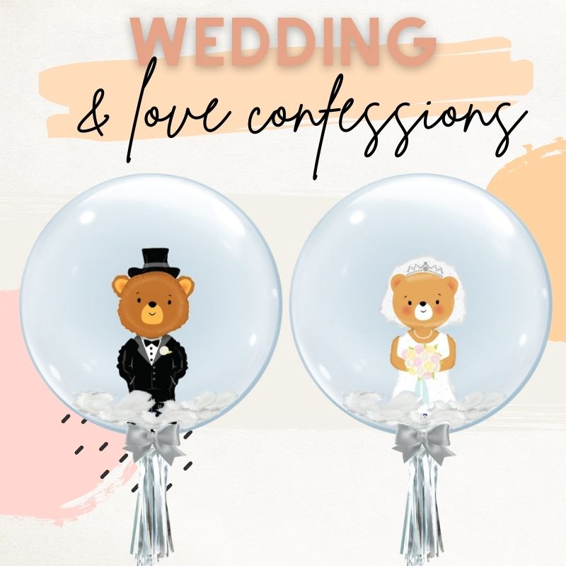 Wedding & Love Confessions by Give Fun Singapore Balloons