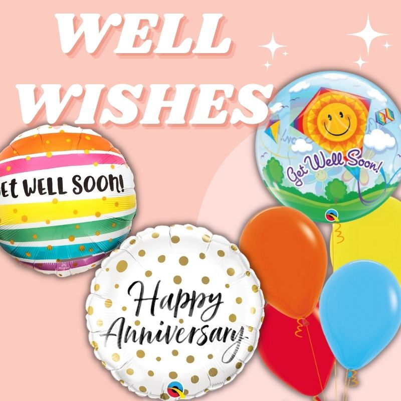 Get Well Soon by Give Fun Singapore Balloons