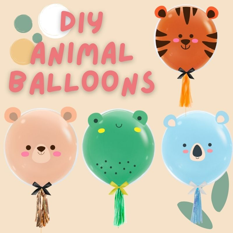 DIY 3D Animal Balloons by Give Fun Singapore Balloons