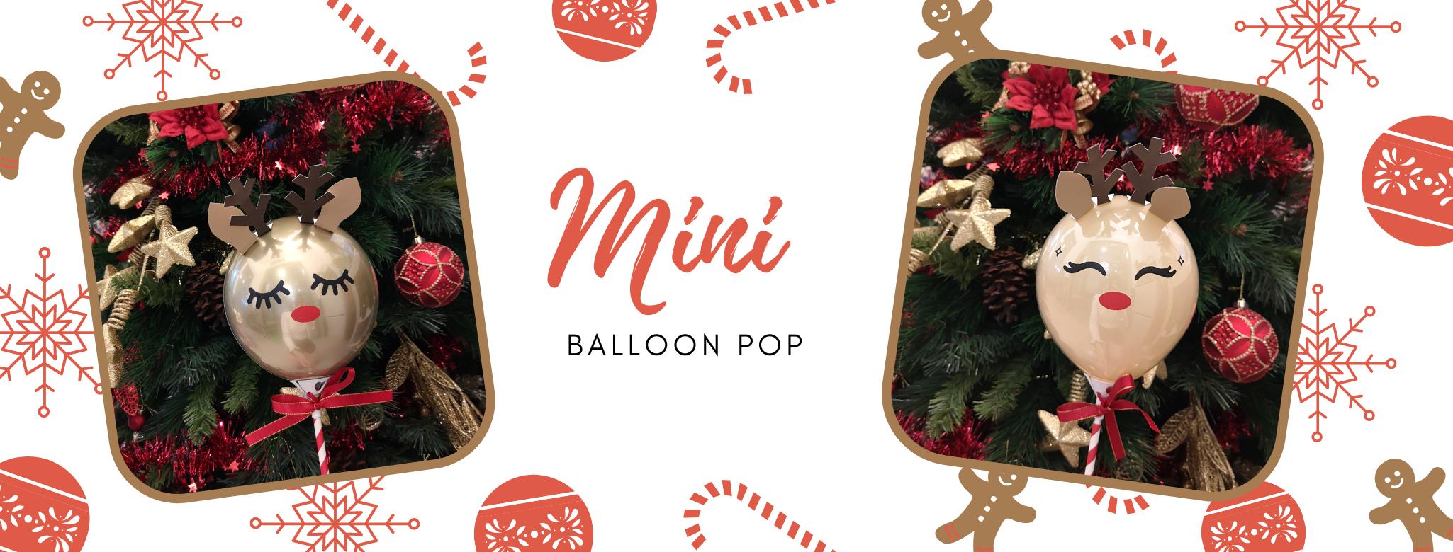 Christmas Mini Balloons  Pop Delivery islandwide Singapore