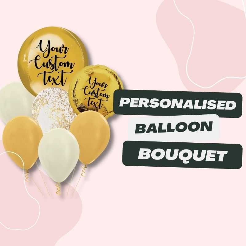 Personalised Balloon Bouquet by Give Fun Singapore Party Balloons