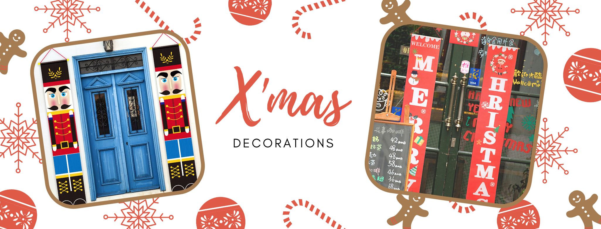 Christmas themed decorations Delivery islandwide Singapore