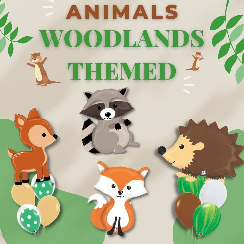 Animals Woodlands Themed by Give Fun Singapore Balloons