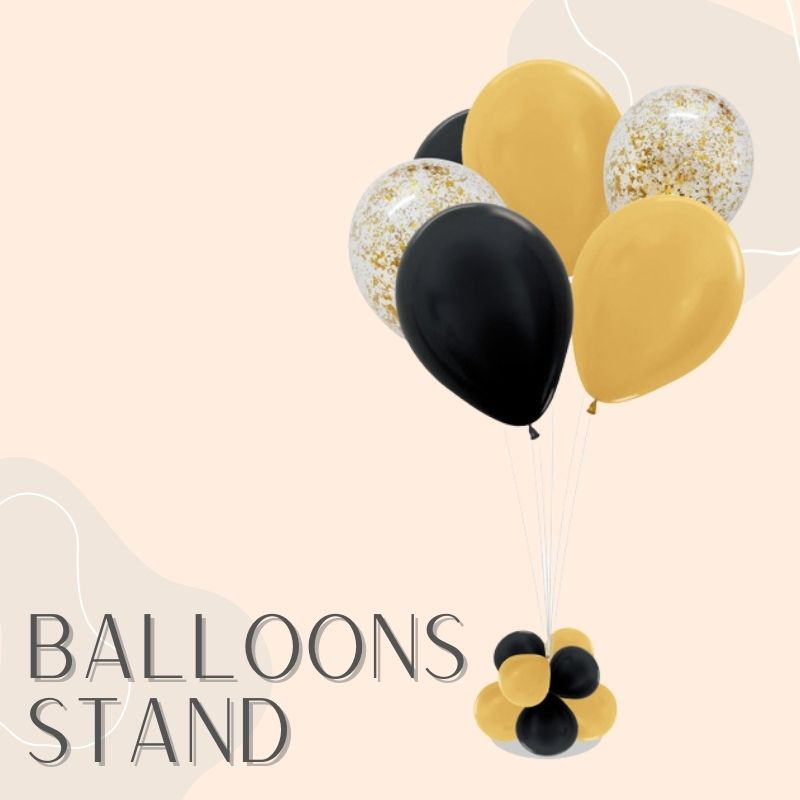 Helium Balloons Delivery Singapore Party Supplies Decorations Balloon Stand Centerpiece