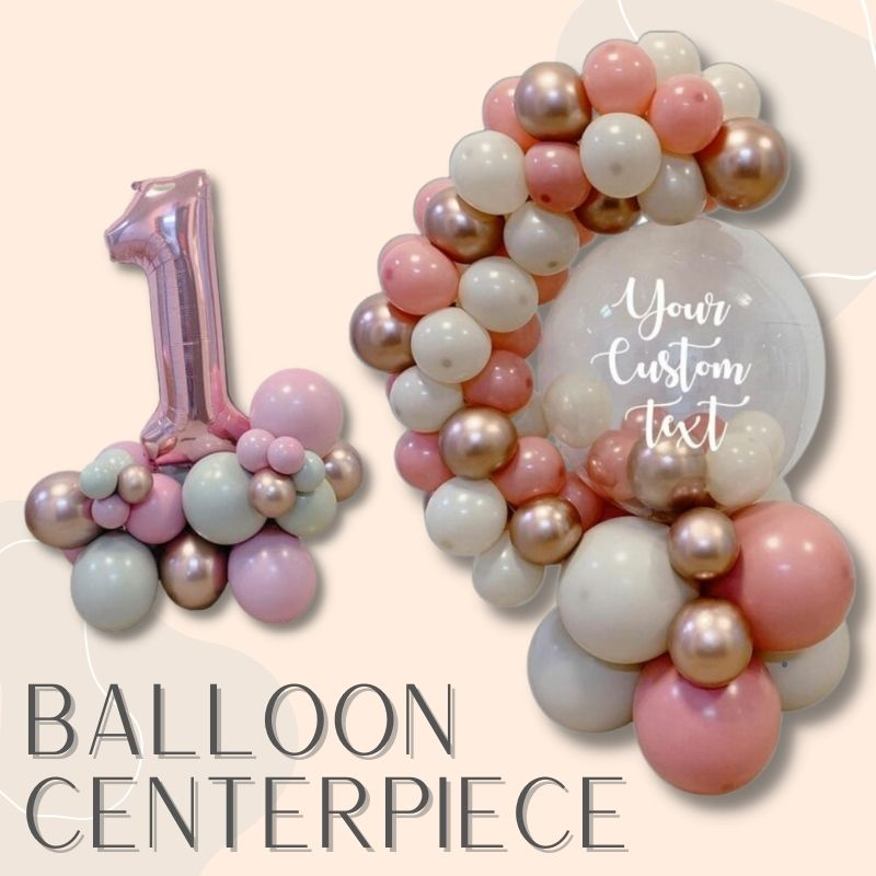 Helium Balloons Delivery Singapore Party Supplies Balloon Centerpiece