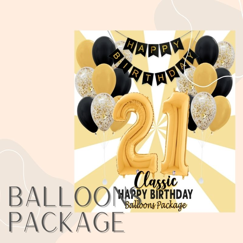 Helium Balloons Delivery Singapore Party Supplies Balloon Packages