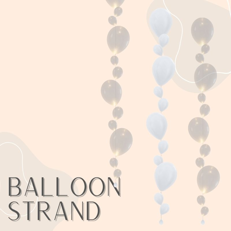 Helium Balloons Delivery Singapore Party Supplies Decorations Balloon Strand LED Floating