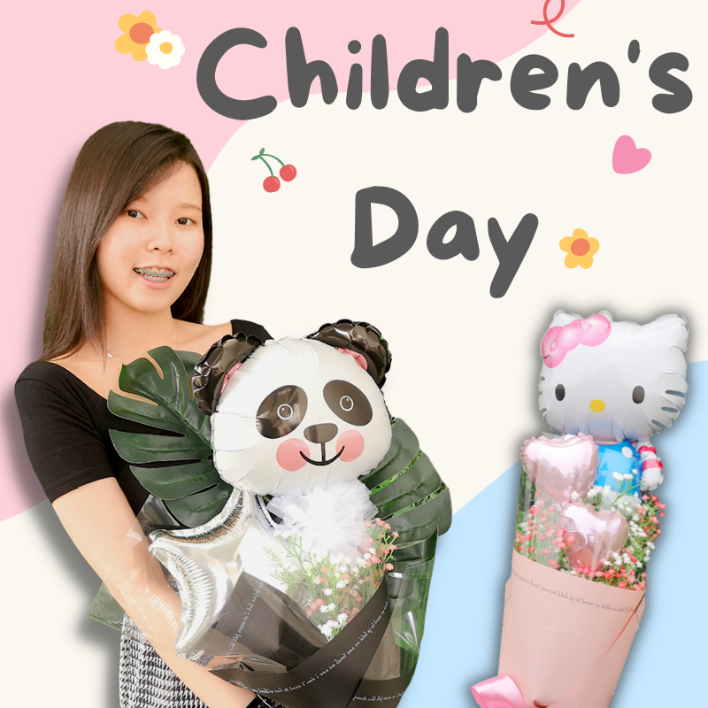 Give Fun Singapore Helium Balloons Party Supplies Decoration Birthday Same Day Delivery Self Pick Up Oxley Bizhub 2 Children's Day gifts ideas