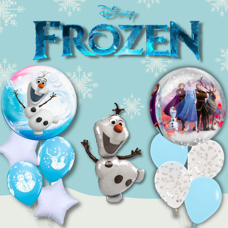 Disney Frozen Olaf Elsa Licensed Balloon By Give Fun Party store online