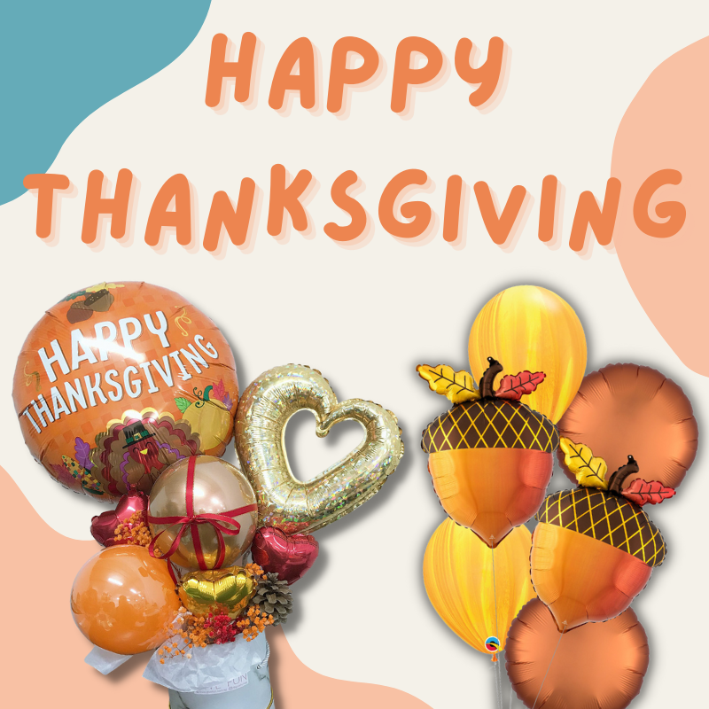Give Fun Singapore Helium Balloons Party Supplies Decoration Birthday Same Day Delivery Self Pick Up Oxley Bizhub 2 best Gift balloon celebrate thanksgiving gifting