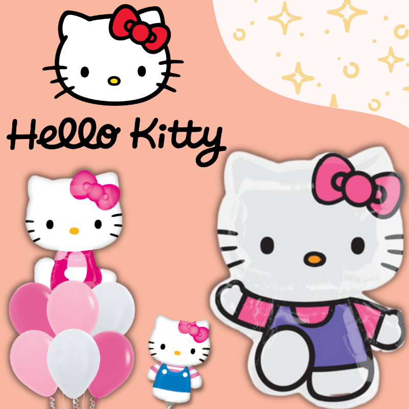 Hello Kitty Licensed Balloons By Give Fun Party Supplies Singapore Store