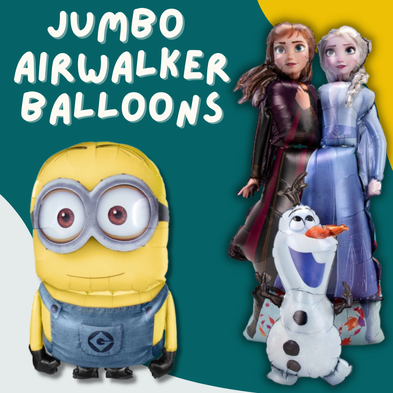 Jumbo Air Walker Licensed Balloon by Give Fun Singapore