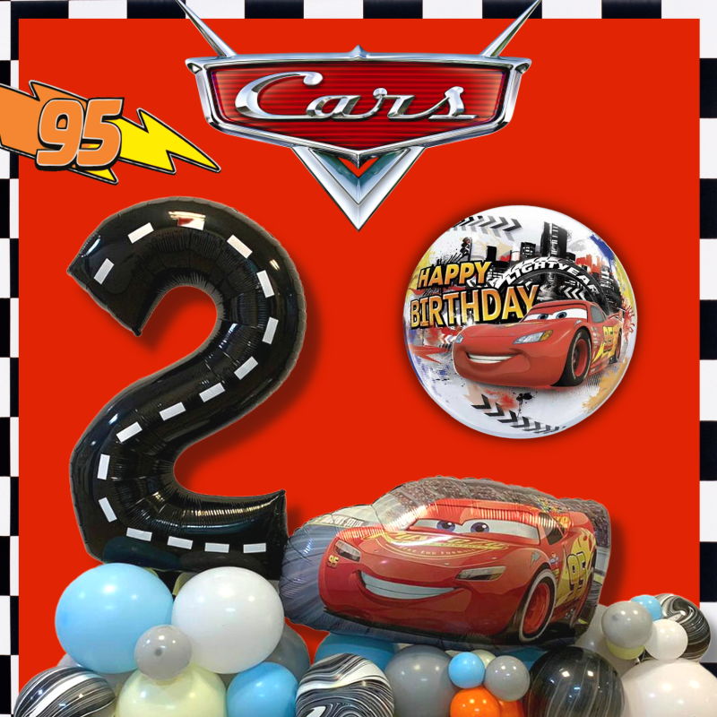 Disney Lightning McQueen Licensed balloon by Give Fun Singapore party supplies and decoration