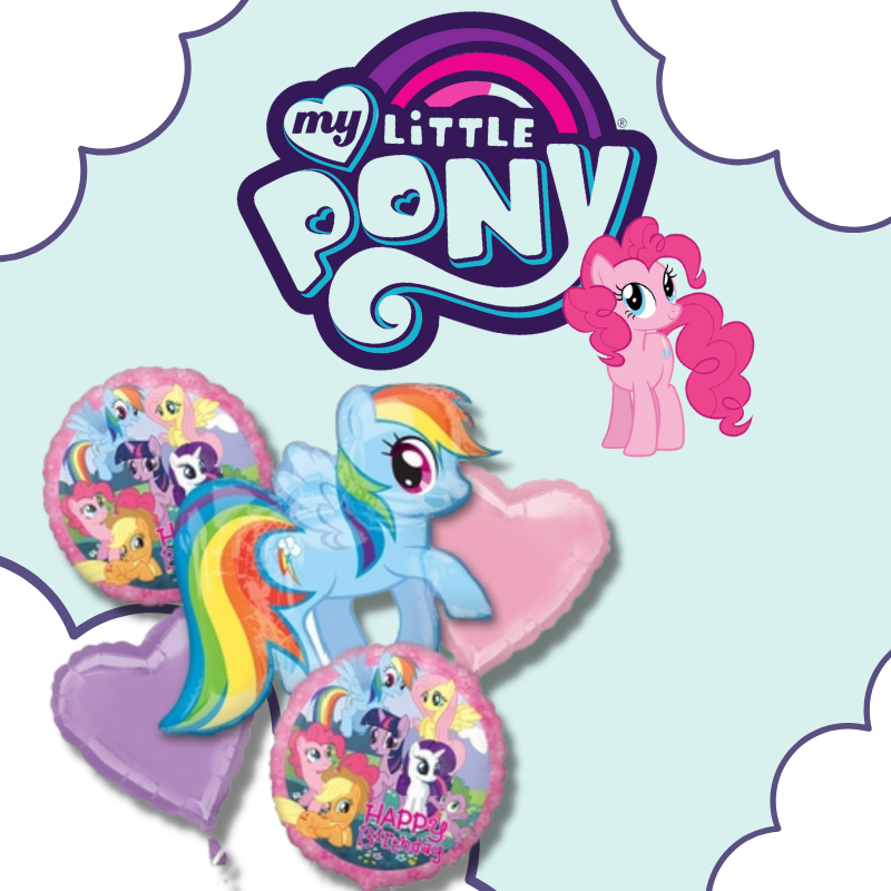 My Little Pony Licensed Balloon by Give Fun Singapore party supplies store