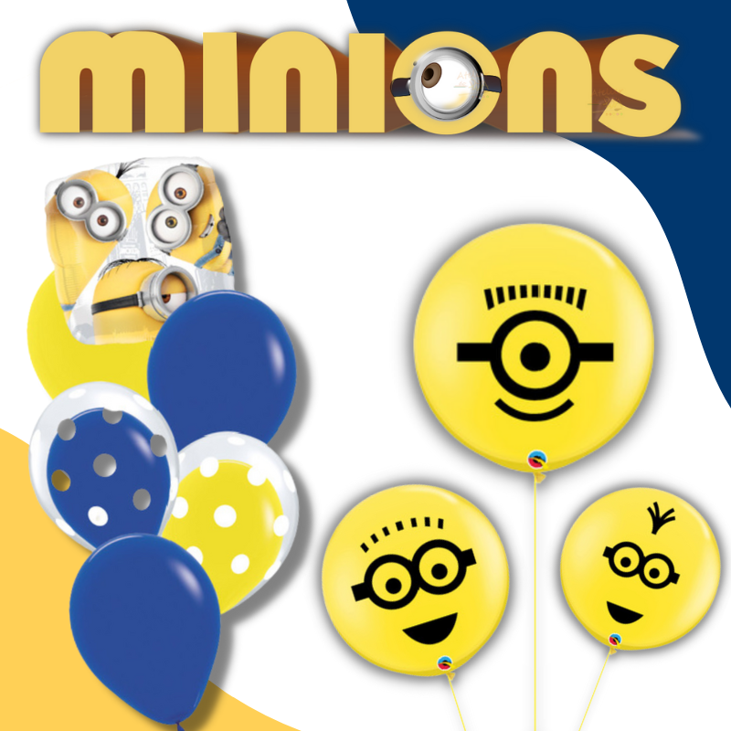 Minions Licensed Balloons by Give Fun Singapore Online Party Balloons Store
