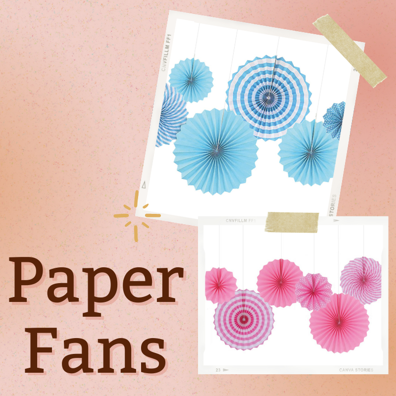 Same Day Delivery DIY Decoration Party Supplies Give Fun Singapore Self Collection Oxley Bizhub 2 DIY Paper Fan Snowflake Fans Flower Party Backdrop