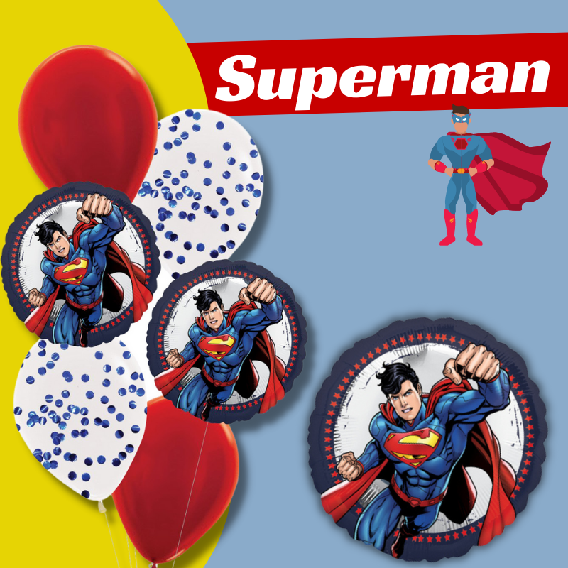 Superman Licensed Balloon by Give Fun Singapore Party Supplies Store