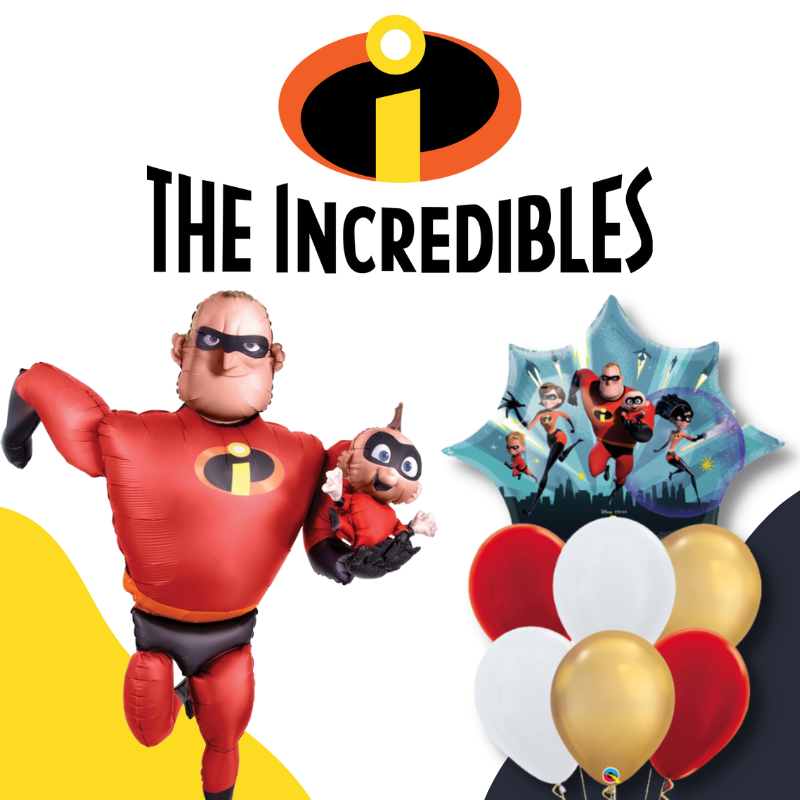 The Incredibles Mr Mrs Jack Dash by Give Fun Singapore Party Supplies Shop