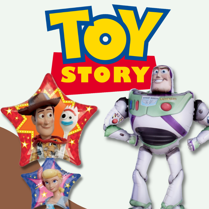 Toy Story Woody Buzz Lightyear Party Licensed Balloon by Give Fun Singapore helium balloon delivery
