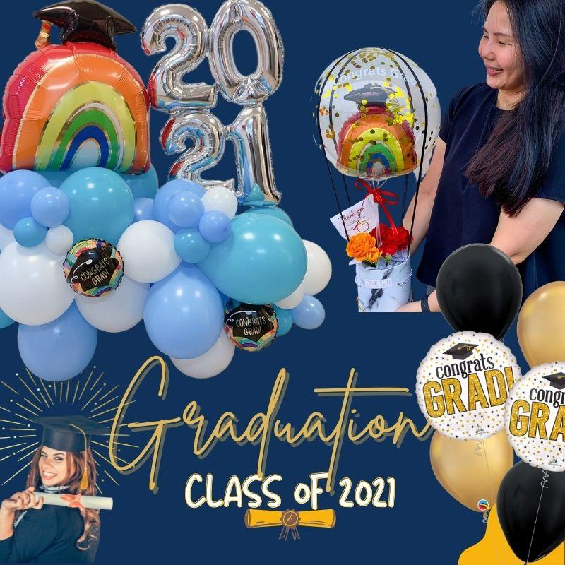 Graduation Theme by Give Fun Singapore Balloons
