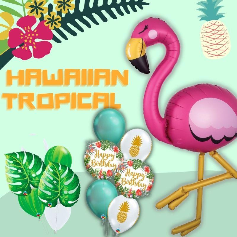 Hawaiian Tropical Theme by Give Fun Singapore Balloons