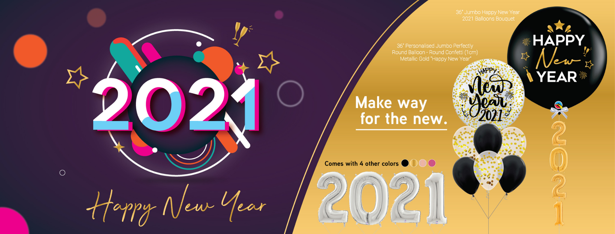 Singapore Give Fun 2021 New Year Party Collection
