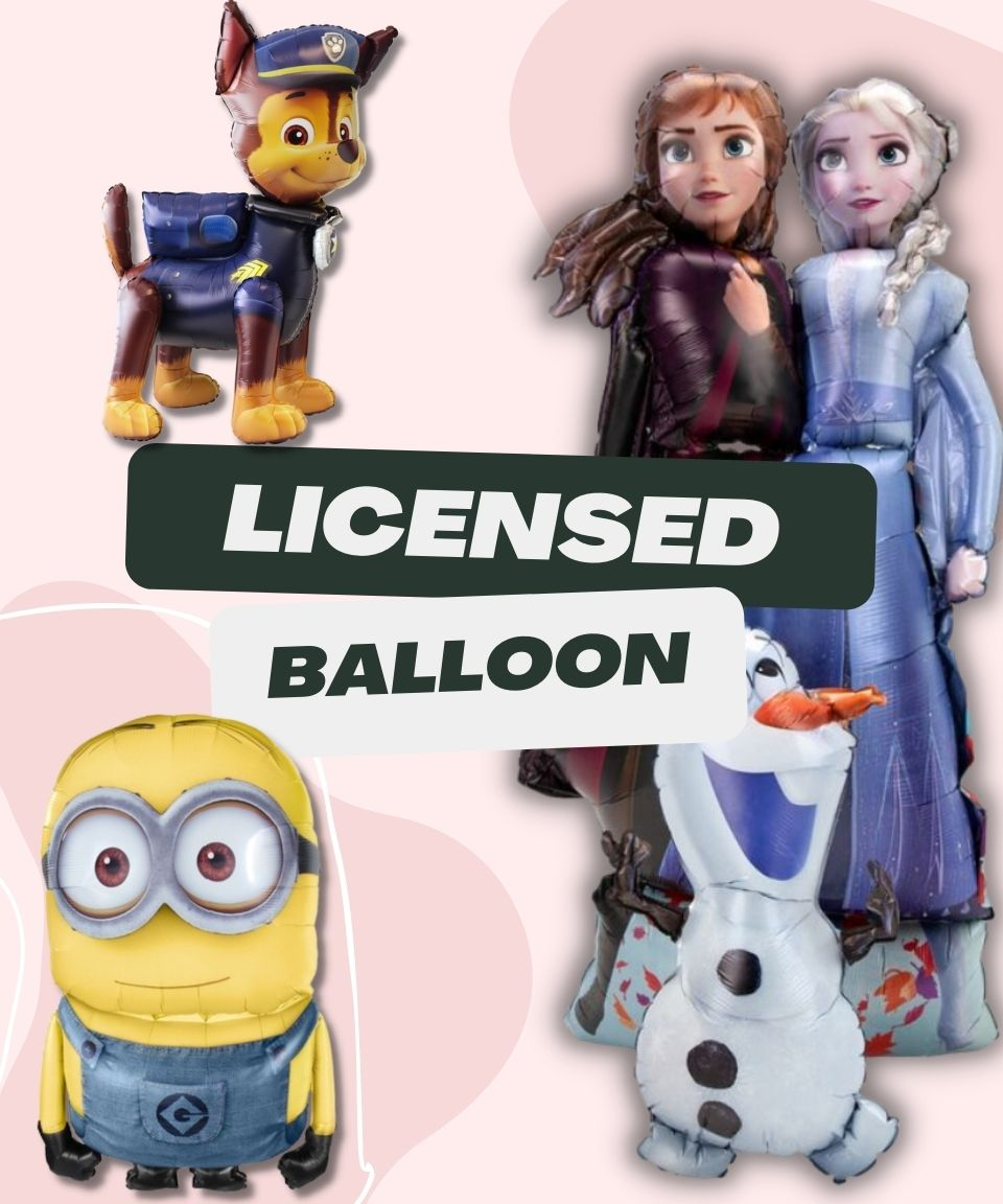 Licensed Balloon by Give Fun Singapore