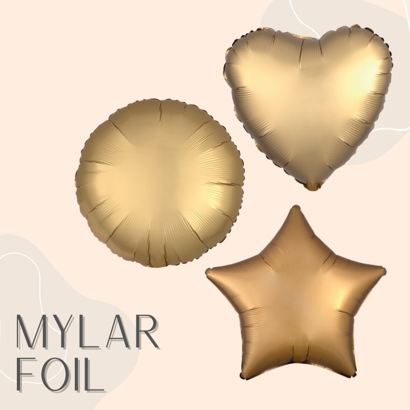 Helium Balloons Delivery Singapore Party Supplies Decorations Star Heart Round Foil Mylar Balloon