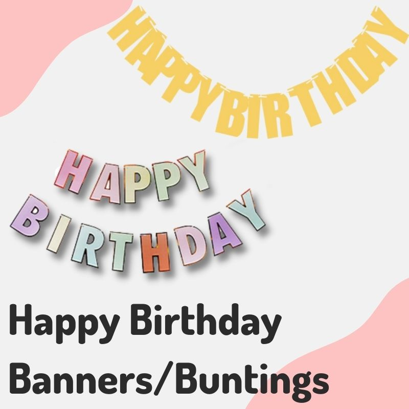 Give Fun Helium Balloons Party Supplies Decoration Birthday Banner Bunting Flag Hanging On the wall same day delivery express courier self collection open everyday