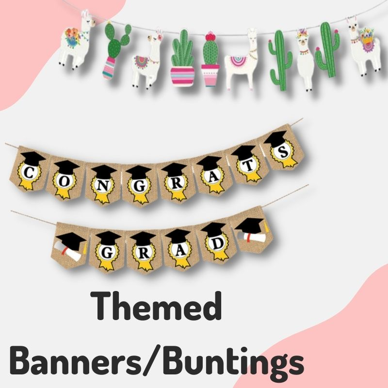 Give Fun Helium Balloons Party Supplies Decoration Birthday Banner Bunting Flag Hanging On the wall same day delivery express courier self collection open everyday Lllam Graduation Themed Baby Shower Occasion Celebration Halloween Merry Christmas