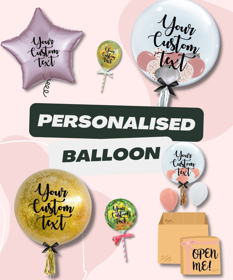 Personalised Balloons by Give Fun Singapore