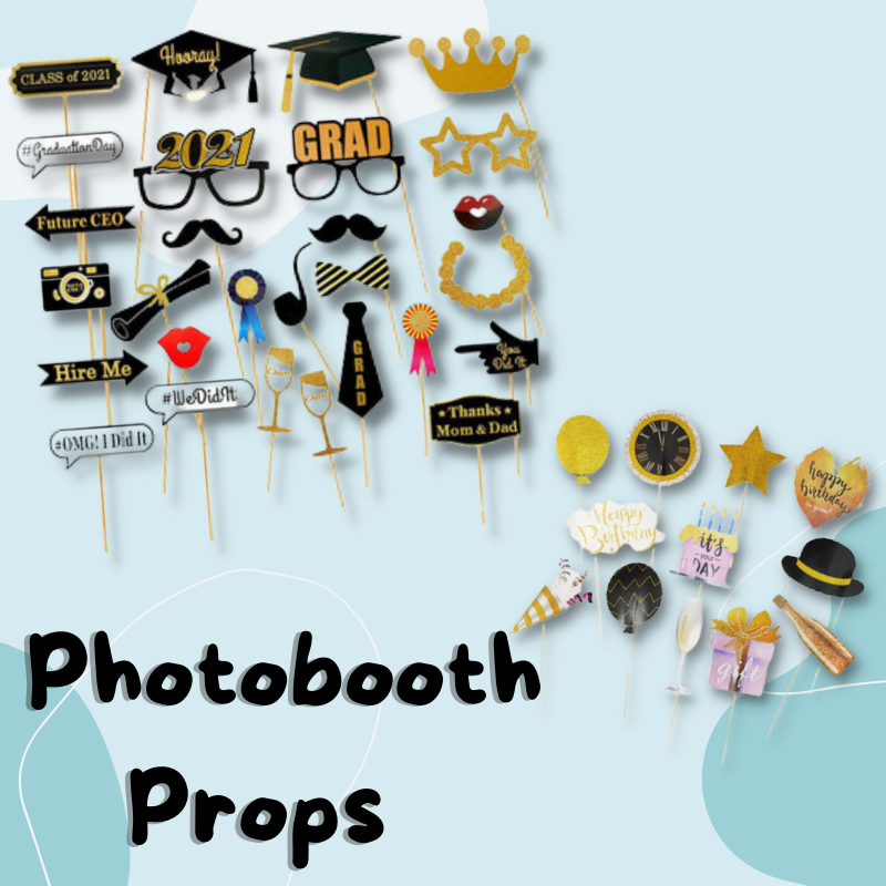 Give Fun Singapore Same Day Delivery Express Courier Store Pick Up Party Supplies Birthday Celebration Decorations Photobooth Props for Photo taking handheld prop Graduation Bachelorette Party
