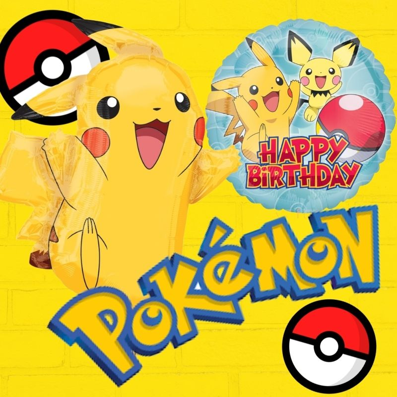 Pokemon Birthday Party Licensed Balloon by Give Fun Singapore Delivery