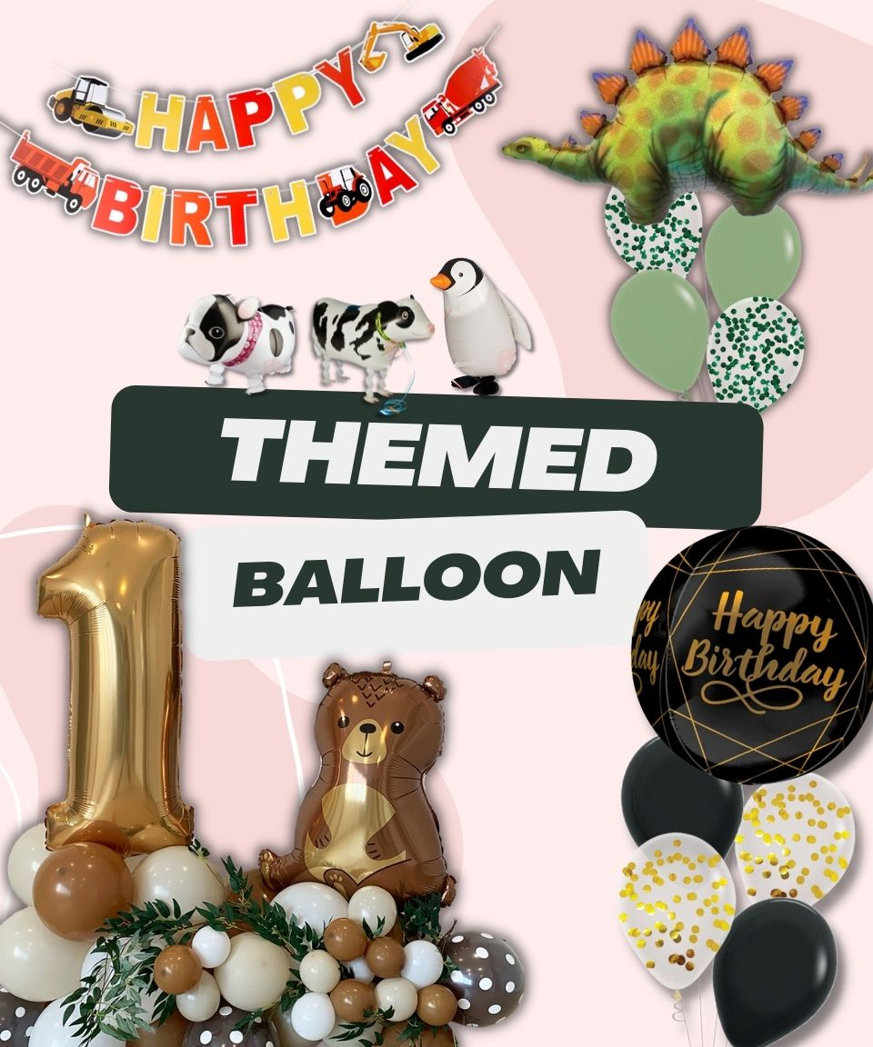 Themed Balloons by Give Fun Singapore